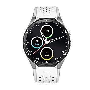 KOBWA KW88 3G WIFI Smartwatch Teléfono Todo en uno Bluetooth Smart Watch con GPS, Cámara, Monitor de Ritmo Cardiaco,Reloj Pulsera Deportiva Compatible ...