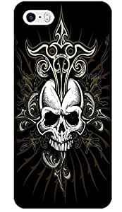 Fantastic Faye Cell Phone Cases For iPhone 5/5S No.1 The Special Design With Skull Heads