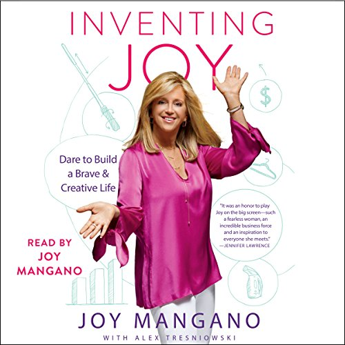 Inventing Joy: Dare to Build a Brave & Creative Life by Simon & Schuster Audio