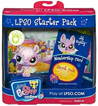 Hasbro Littlest Pet Shop Online LPSO Web Game Starter Pack Jet ...