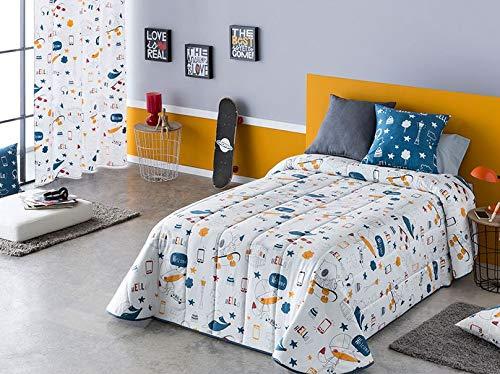 T&R Confort Sansa Kids Urban Cama 105 + 1 Funda Cojin E ...