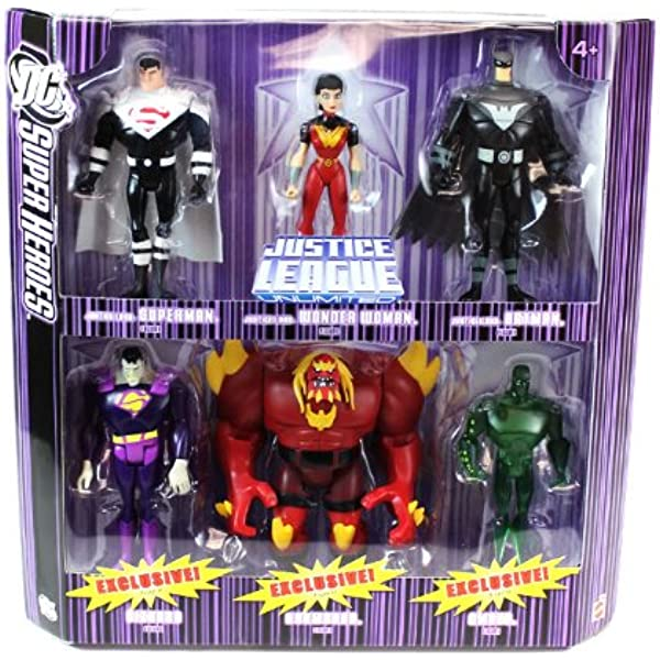 Amazon Com Dc Super Heroes Justice League Unlimited Justice