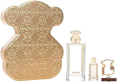Tous, Set con Eau de Toilette 90 ml, Eau de Toilette 4.5 ml y Llavero Bear Tous: Amazon.es: Belleza