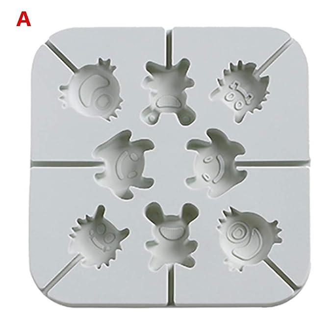 Amazon.com: QBQCBB Molde de silicona para galletas ...