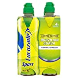 Lucozade Sport Brazilian Guava (4x500ml) - Pack of 2