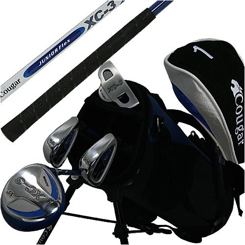 Junior Right Hand Cougar XC-3 Golf Set, Outdoor Stuffs