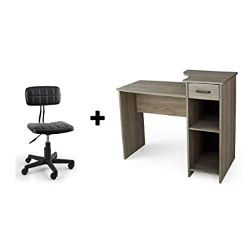 Amazon Com Mainstays Student Desk, Multiple Finishes (rustic Oakimage  Unavailable Image Not Available For