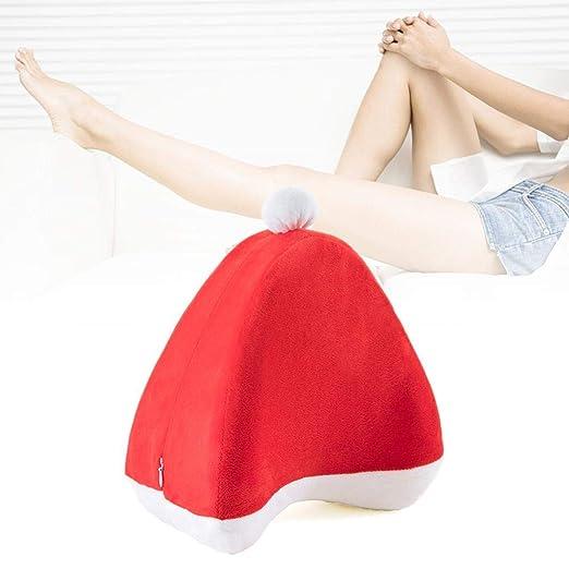 Almohada de algodón con memoria para la rodilla, almohada ...