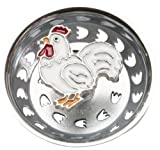 country kitchen sinks French Rooster Country Kitchen Sink Strainer Drain Decor