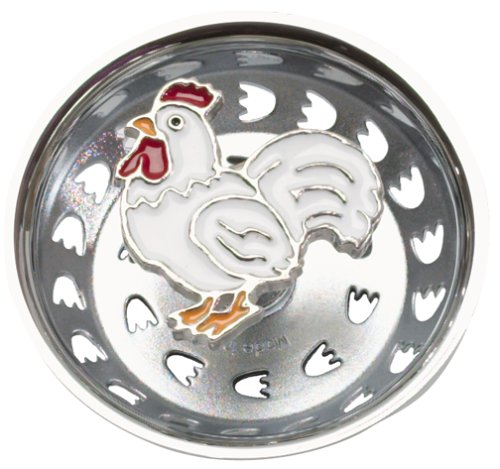 French Rooster Country Kitchen Sink Strainer Drain Decor ()