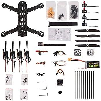 YKS DIY 250 Racing Quadcopter Full Carbon Fiber Frame Kit ARF with Camera