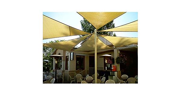 Super*Depot Toldo Triangular para jardín o Patio, Color Beige ...