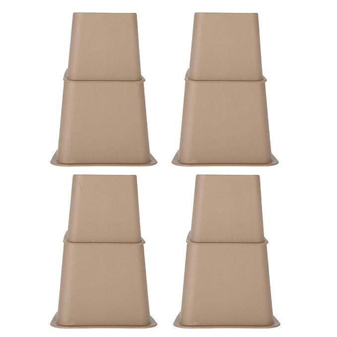H.Yue Chair Leg Raisers, Adjustable Bed Risers Table Sofa ...