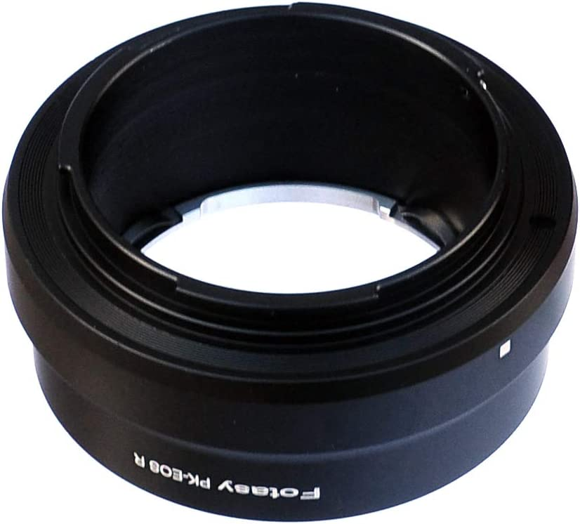 PK EOS R PK EOS R Adpater PK RF Adapter Fotasy Manual PK Lens to Canon EOS R Mount Adapter compatible with Pentax K Mount Lens /& Canon EOS R Mirrorless Camera EOS R// EOS RP Pentax K EOS R