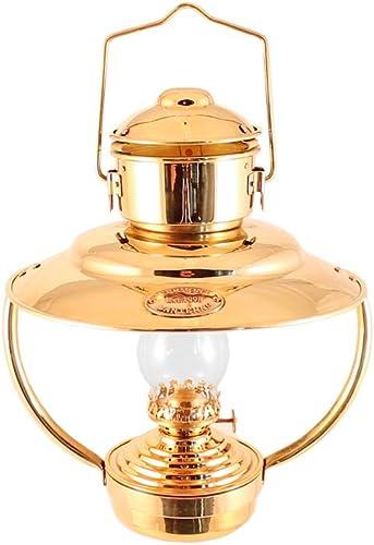 Vermont Lanterns – Brass Trawler Nautical Hanging Oil Lamp 10 Brass