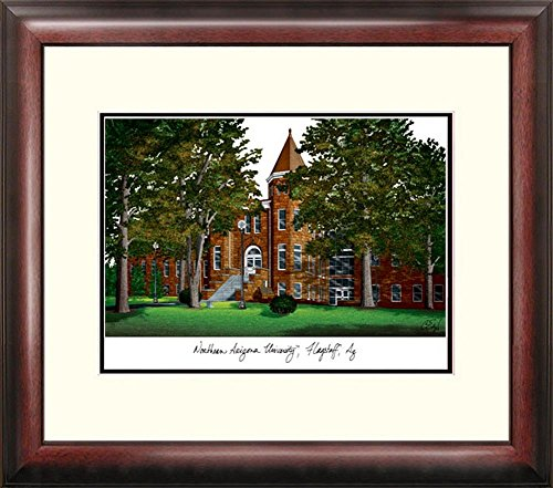 Northern Arizona Lumberjacks Framed Lithograph Print by Landmark Publishing