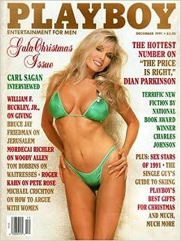 Playboy December 1991 Vintage Magazine Back Issue Hugh Hefner
