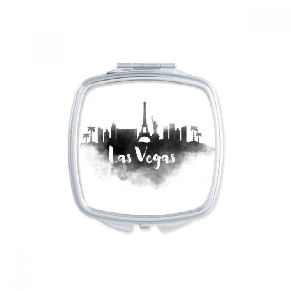 Las Vegas America Ink City Square Compact Makeup Pocket Mirror Portable Cute Small Hand Mirrors Gift