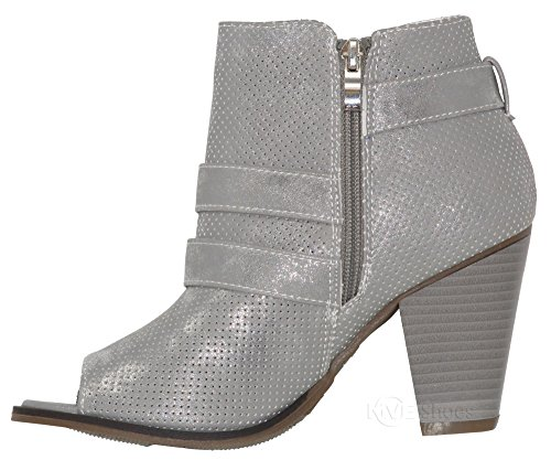 Mve Bootie Toe Buckle Ankle Triple Mid Pointed Women's Shoe By Side Open Silver74 Zipper Heel Deco Toys high Shoes Ankle rFwr0xtf