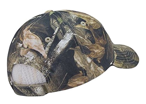 Review US American Flag Hybricam Mossy Camouflage Camo Baseball Cap (One Size, Camo)