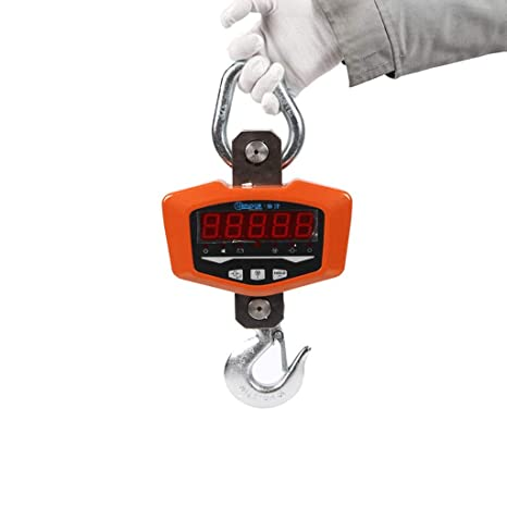 ZNND 3T Electrónico Grua Escala 2 Toneladas De Vista Directa Manos Colgando Dijo Durable Peso Métrica