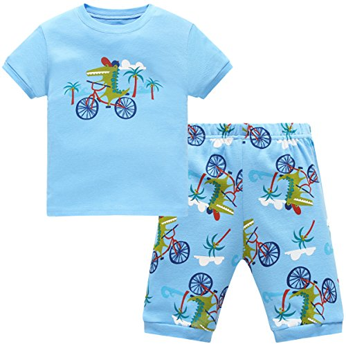 hugbug-boys-pajamas-with-crocodile-print-for-toddler-and-kid-boys-2t