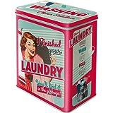 """Nostalgic Art 30117 Say it 50 """"s Finished Your Laundry, Storage Box, L"""