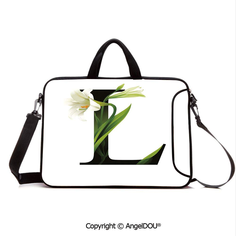 579c6bdbceb7 Amazon.com: AngelDOU Neoprene Printed Fashion Laptop Bag Conceptual ...