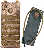 Outdoor Tactical Assault Combat Camouflage Tactical Molle Water Pack 2.5/3L Hydration Pack