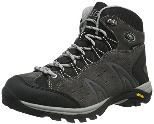 Bruetting Men's Mount Bona High Rise Hiking Boots Grey (Grau Grau) suKLc65AG