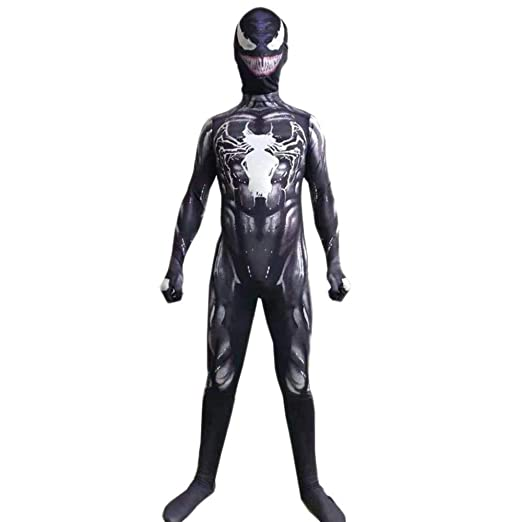 ERTSDFXA Venom Spider Man Costume Cosplay Adulto Navidad Niño ...