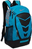 Nike BA4883-490 Max Air Vapor Backpack (Photo Blue/Black/Metallic Silver)