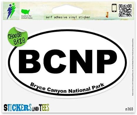 "Bryce Canyon National Park Utah Sticker 3.75/"" x 2.4/"" Vinyl Decal"