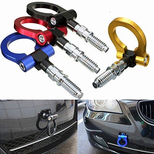 EFORCAR 1pcs que compite con remolque gancho de remolque para el anillo de remolque universal de Europa, el coche auto (color al azar)