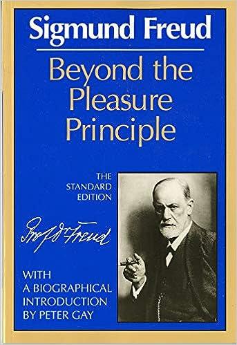 Book reviews on sigmund freuds beyond the pleasure principle galleries