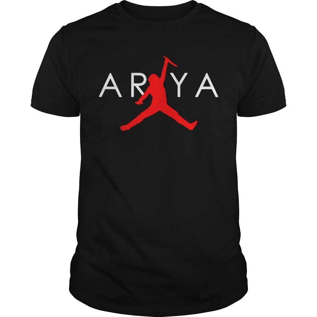 Arya Stark Air Jordan T Shirt 2500