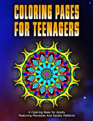 COLORING PAGES FOR TEENAGERS - Vol.10: Coloring Pages For Girls (Volume 10)