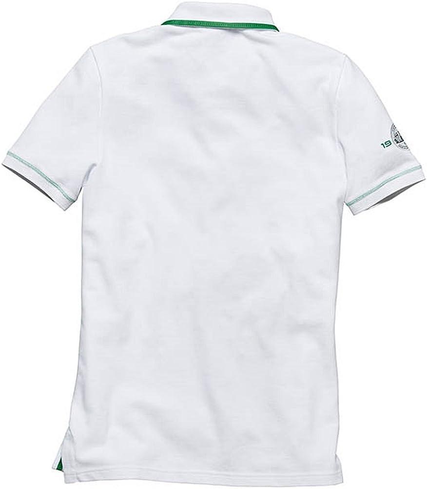 Porsche - Camisa casual - Manga corta - para hombre Blanco blanco ...
