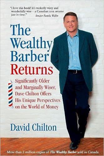 The Wealthy Barber Returns: David Chilton: 9780968394748: Books ...