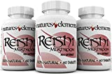 Reishi Mushroom Extract for Immune Support – PACK OF 3 – Powerful 10:1 Concentration – Vegetarian Safe – Gluten Free – 1,000 mg Per Serving – 100% Pure – (Ganoderma Lucidum) For Sale