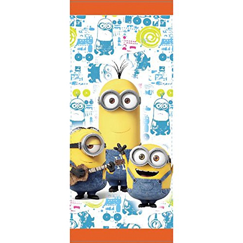 Wilton 1912-4600 16 Count Despicable Me Minions Treat Bags, Yellow]()