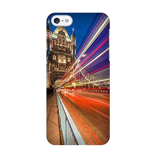iPhone 5C Coque photo - Lumières Tower Bridge Street