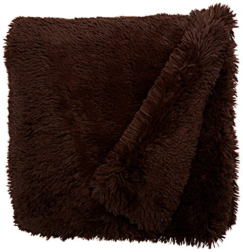 BESSIE AND BARNIE Pet Blanket, X-Large, Grizzly Bear/Grizzly Bear without Ruffle by BESSIE AND BARNIE