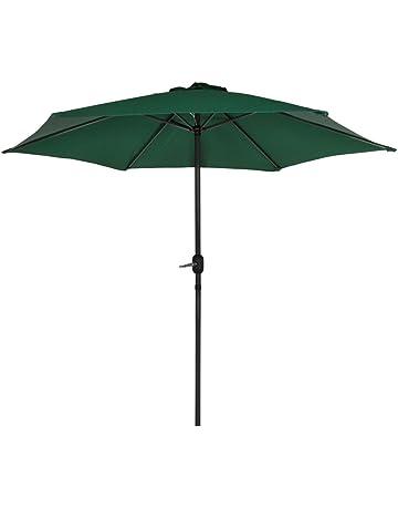 Aktive Garden Parasol Hexagonal con Mástil de Aluminio