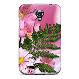 New CugLhYs4207ATvbI Cles Floral Skin Case Cover Shatterproof Case For Galaxy S4