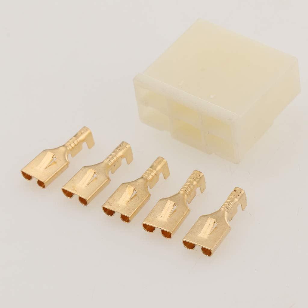 Gazechimp Kit De Connecteurs De Faisceau De C/âblage De Redresseur//R/égulateur