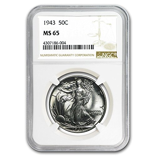 1943 Walking Liberty Half Dollar MS-65 NGC Half Dollar MS-65 NGC