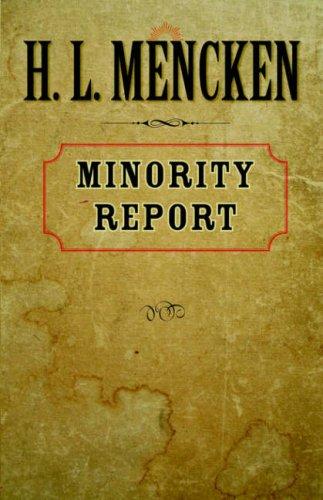 Minority Report (Maryland Paperback Bookshelf) by Brand: The Johns Hopkins University Press