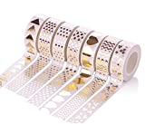 Foil Gold Masking Tape Decorative Craft Tape Collection - Best Reviews Guide