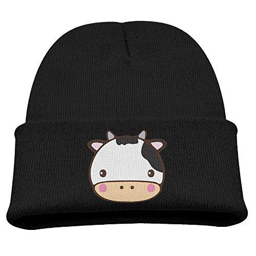 Captain America Fleece Hat - ZWZ Cow Kid's Hats Winter Funny